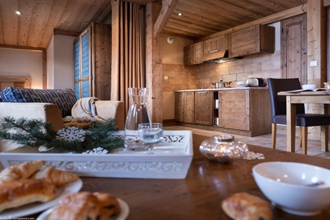 Le Hameau de Sapiniere, Les Menuires (3 Valleys) - Apartment 1 bed alcove sleeps 4