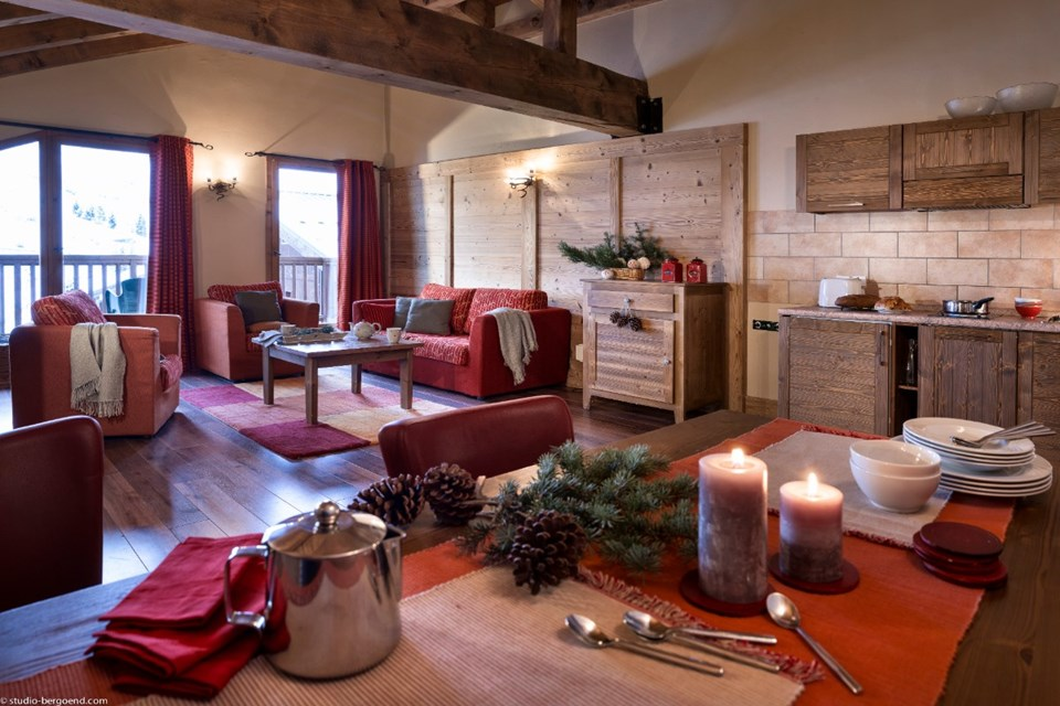 Le Hameau de Sapiniere, Les Menuires (3 Valleys) - Apartment 2 bed sleeps 4