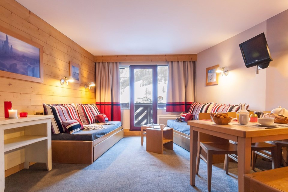 Les Balcons de Bellevard, Val d'Isere (self catered apartments) - Apartment