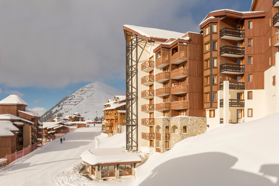 Les Nereides, Belle Plagne (self catered apartments) - Ski in Ski out