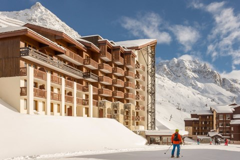 Les Nereides, Val d'Isere (self catered apartments) - Ski in Ski out