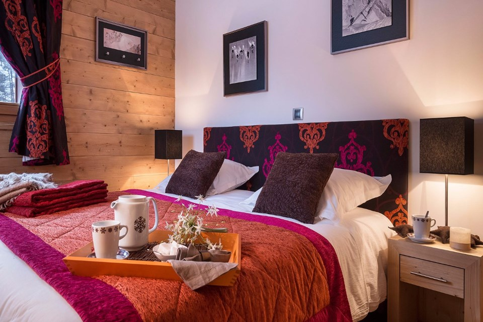Kalinda, Tignes 1800 (self catered apartments) - Double Bedroom