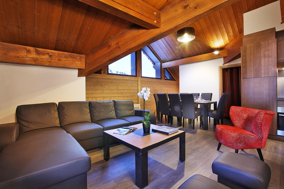 Chalet des Neiges Arolles, Arcs 2000 (self catered apartments) - Apartments
