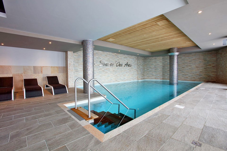 La Source des Arcs, Arcs 2000 (self catered apartments) - Indoor Pool