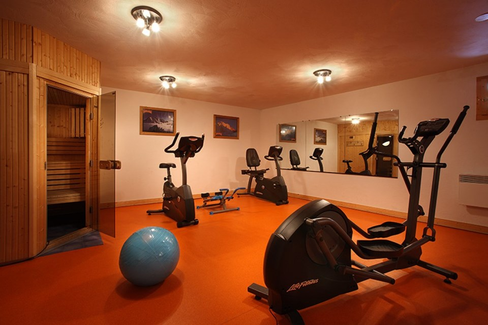 Chalet des Neiges Hermine, Val Thorens (self catered apartments) - Gym