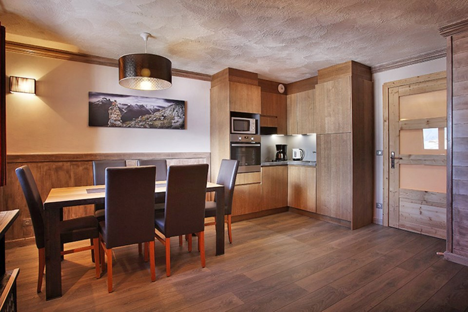 Chalet des Neiges Hermine, Val Thorens (self catered apartments) - Apartment