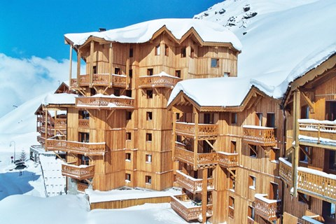 Chalet Altitude, Val Thorens (self catered apartments) - 100m from ski slopes