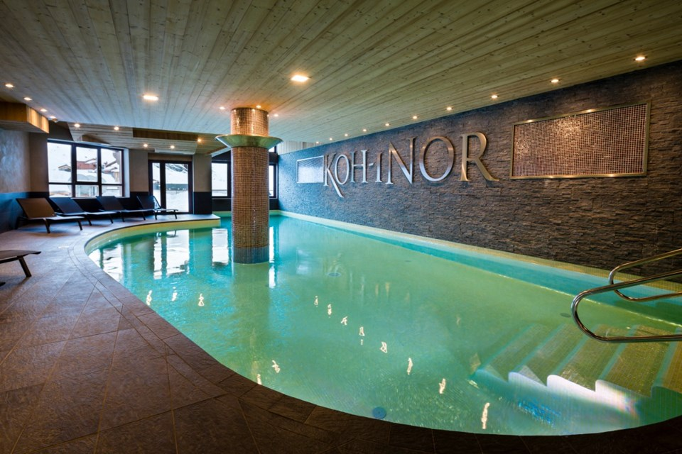 Koh i Nor, Val Thorens (hotel & apartments) - Indoor pool