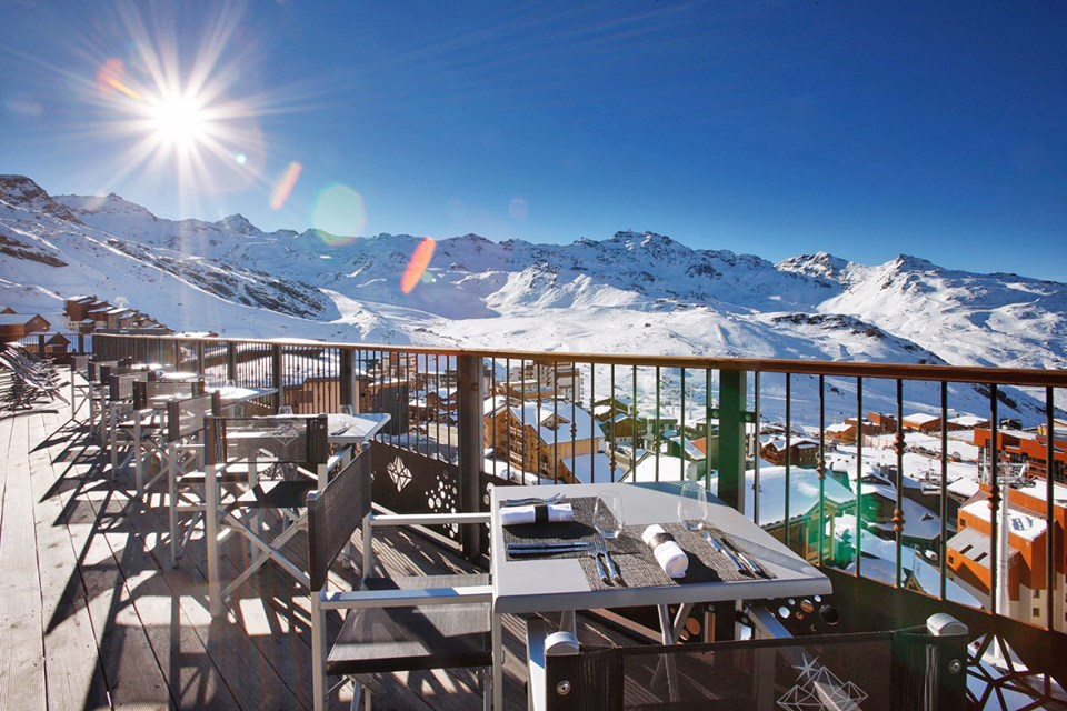 Koh i Nor, Val Thorens (hotel & apartments) - Terrace