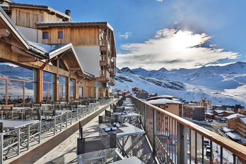 Koh i Nor, Val Thorens (self catered apartments) - Terrace
