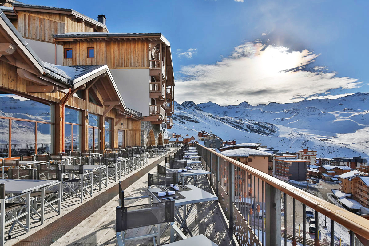 Koh I Nor, Val Thorens (self Catered Apartments)   Terrace