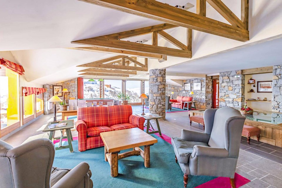 Aspen, La Plagne Village (self catered apartments) - Lounge