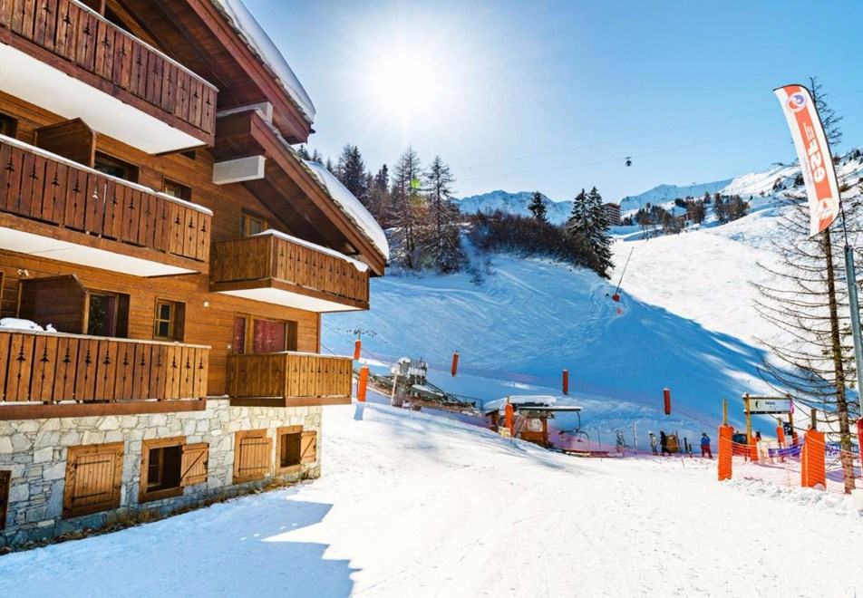 Les Chalets d'Edelweiss, La Plagne (self catered apartments) - Heart of La Plagne 1800