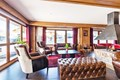 Les Chalets d'Edelweiss, La Plagne (self catered apartments) - Lounge with open fire