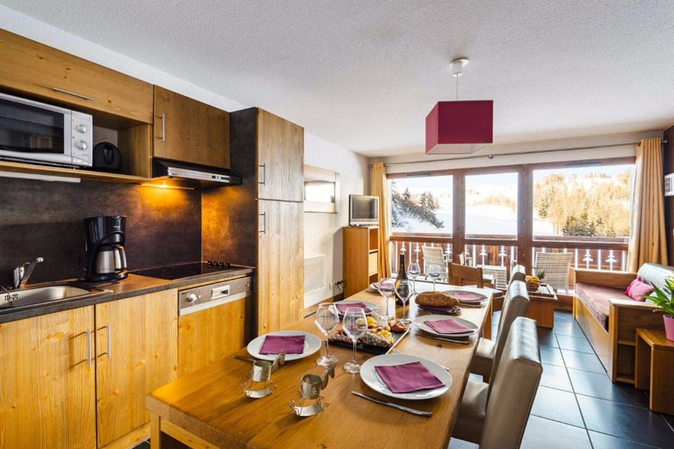 Les Chalets d'Edelweiss, La Plagne (self catered apartments) - Apartments