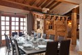 La Ferme, Meribel (Bed & Breakfast chalet) - Dining area