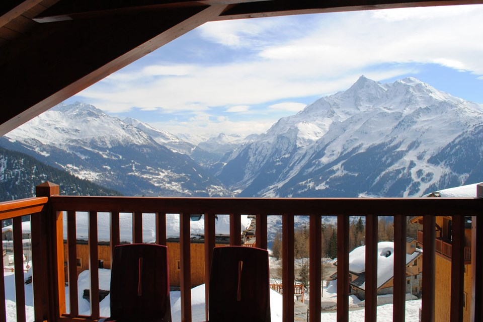 Les Cimes Blanches, La Rosiere (self catered apartments) - Views