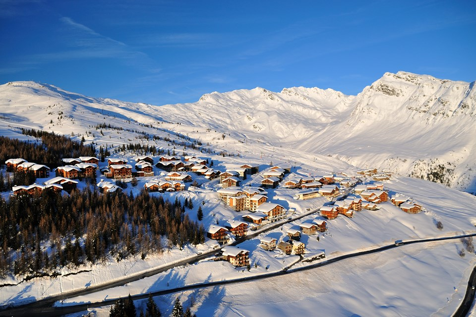 La Rosiere Ski Resort HD