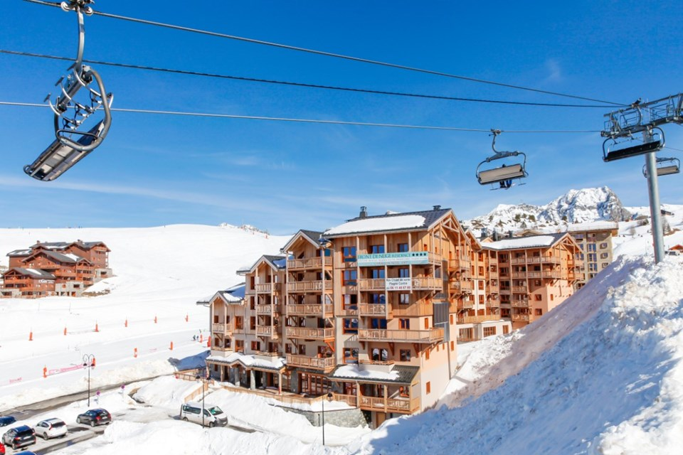 Front de Neige, La Plagne (self catered apatments) - Ski in Ski out