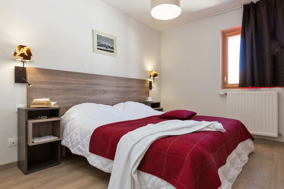 Front de Neige, La Plagne (self catered apatments) OPT - 1 bed 4