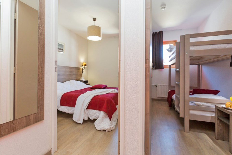 Front de Neige, La Plagne (self catered apatments) OPT - 1 bed alcove 6