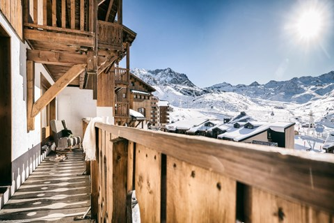Hameau du Soleil, Val Thorens (self catered apartments) - Balcony