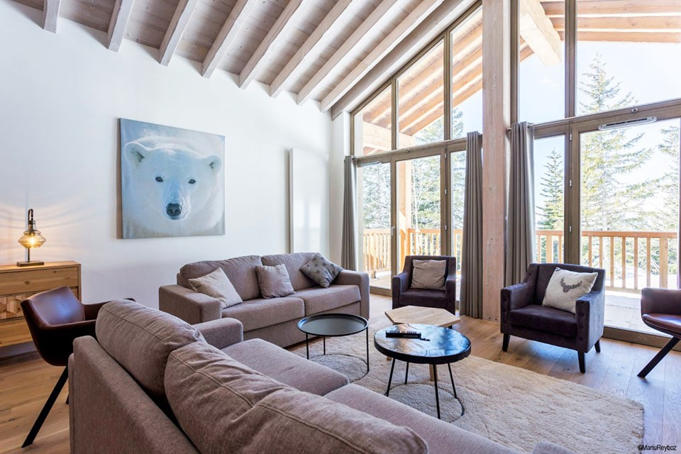 Hameau de Barthelemy, La Rosiere (self catered apartments) - 4 bedroom duplex apartment