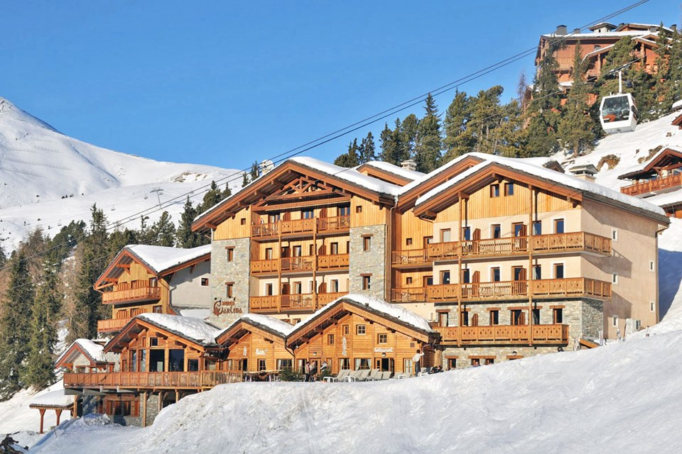 Carlina, Belle Plagne (self catered apartments and hotel)