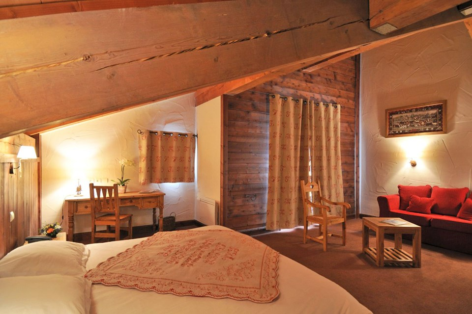Carlina, Belle Plagne (self catered apartments and hotel) - Hotel rooms