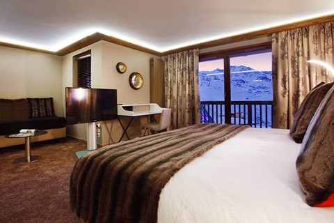 Daria-I Nor, Alpe d'Huez (hotel) - Artists Impression