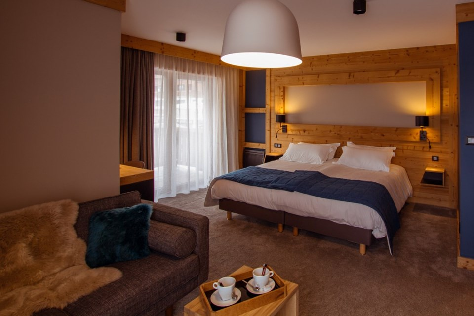 Avancher, Val d'Isere (self catered apartments & hotel) - Hotel rooms
