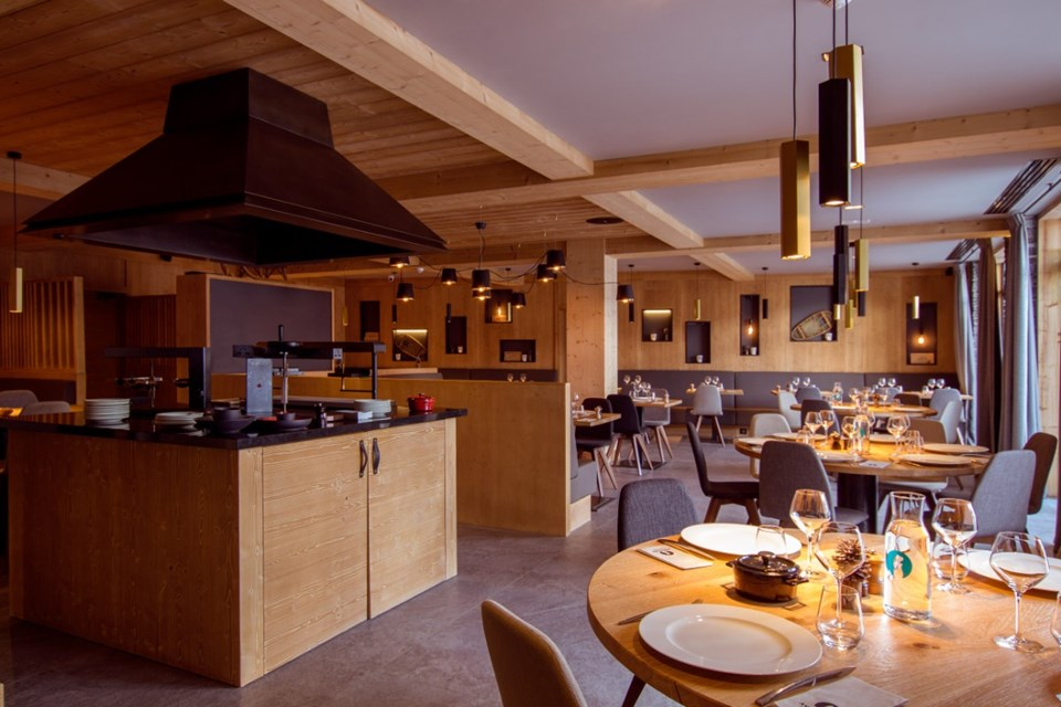 Avancher, Val d'Isere (self catered apartments & hotel) - Restaurant