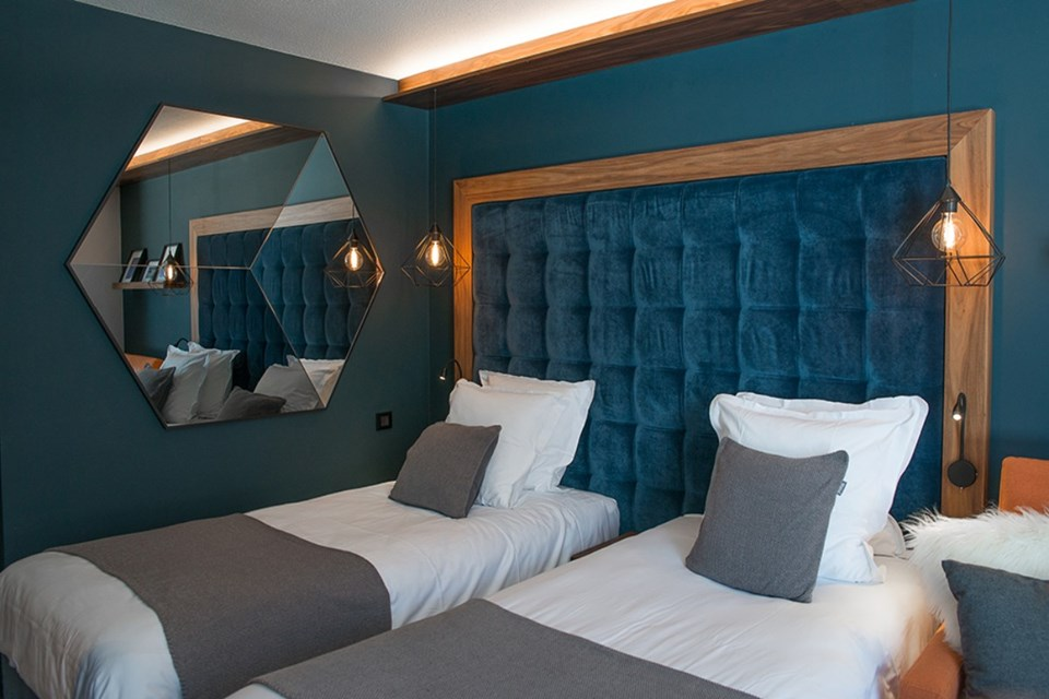 Farenheit 7, Val Thorens (hotel) - Hotel rooms
