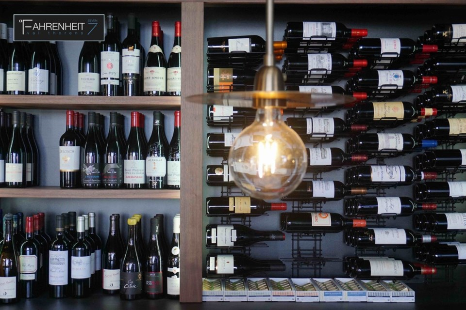 Farenheit 7, Val Thorens (hotel) - Wine selection
