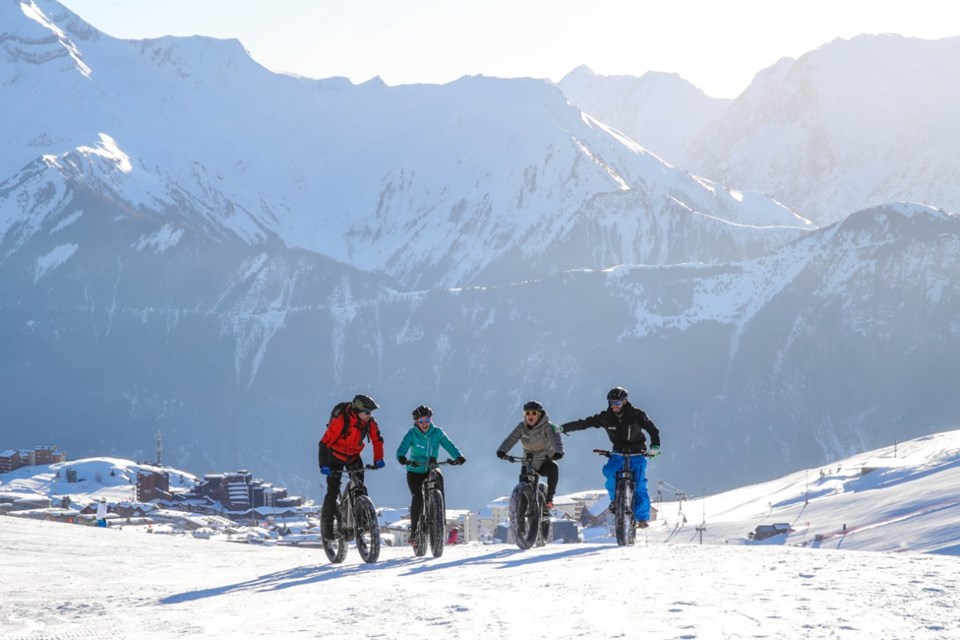 Alpe d'Huez Ski Resort (©Cyrille-Quintard) - Fat bike