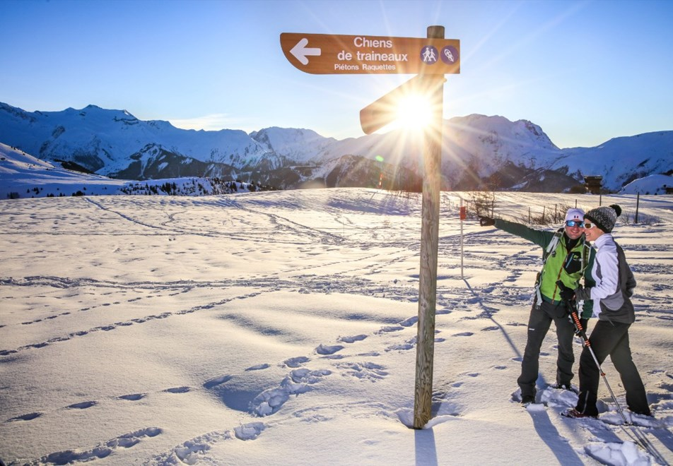 Alpe d'Huez Ski Resort (©Cyrille-Quintard) - Walking trails