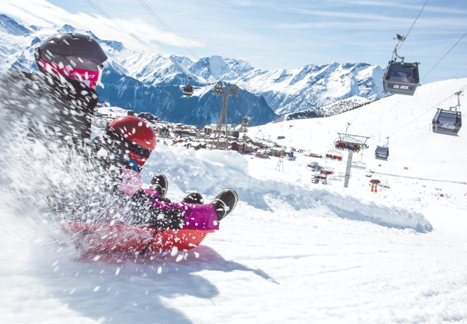 Alpe d'Huez Ski Resort (©Laurent-Salino) - Sledding