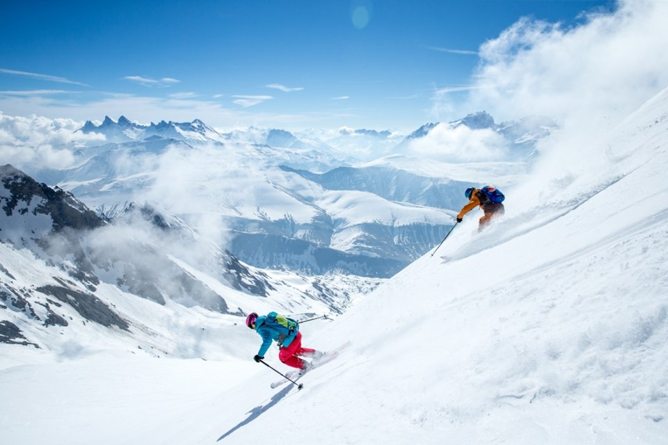 Alpe d'Huez Ski Resort (©Laurent-Salino) - Grand Sablat freeride