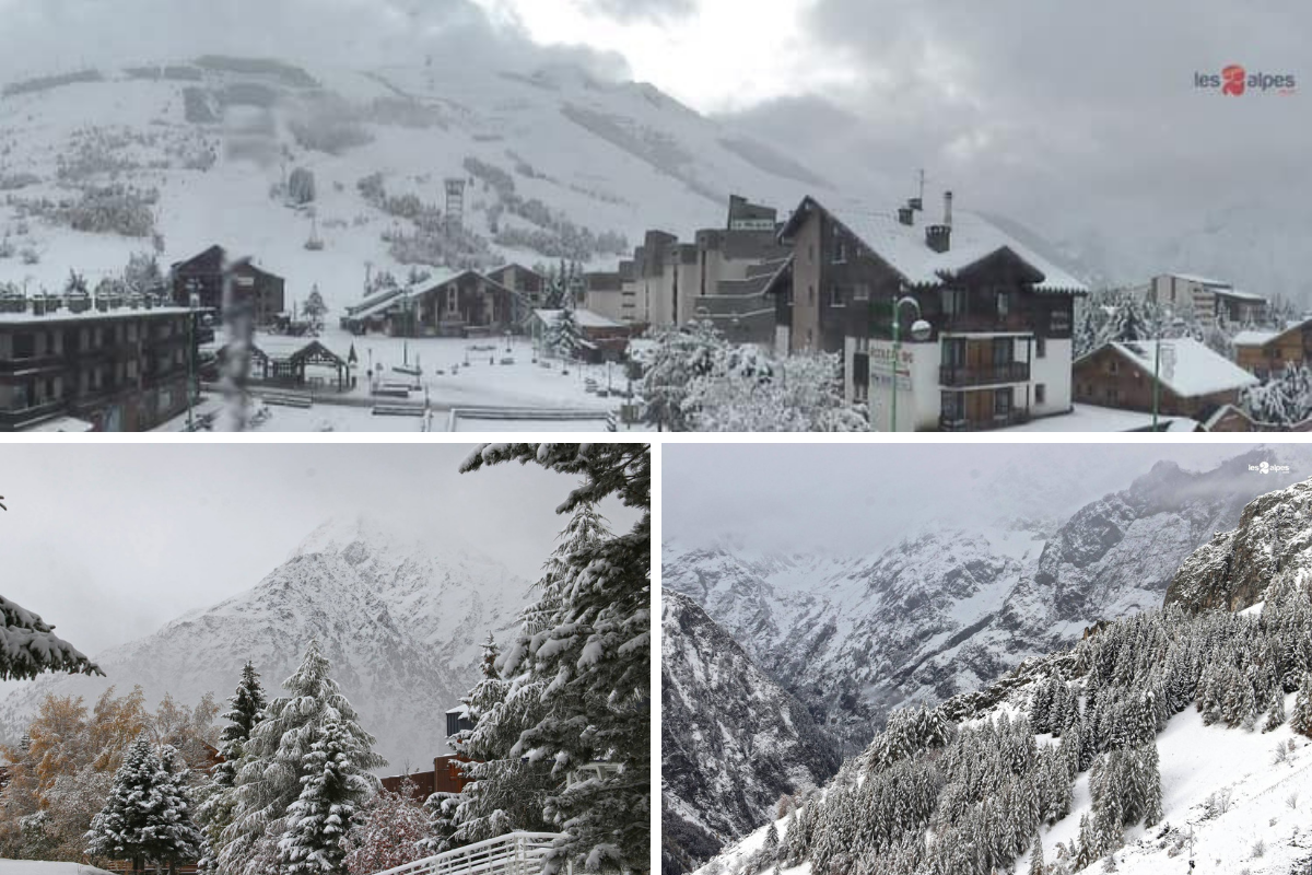 Les Deux Alpes early season snow 2018