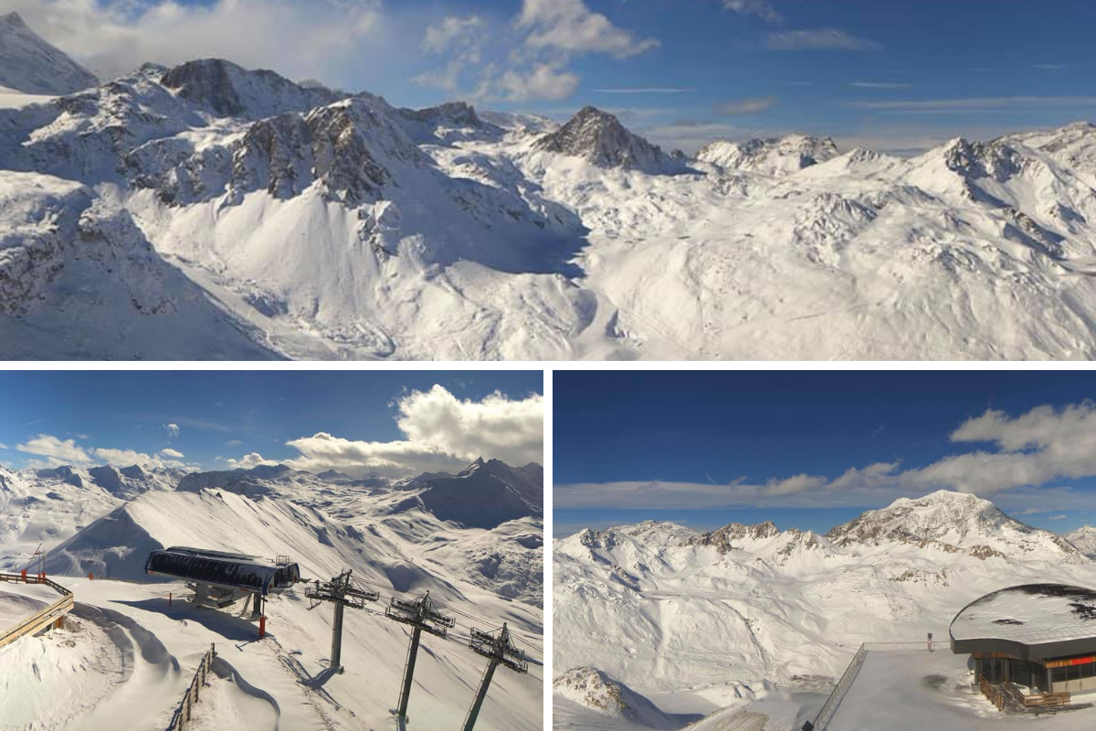 Tignes early season snow 2018