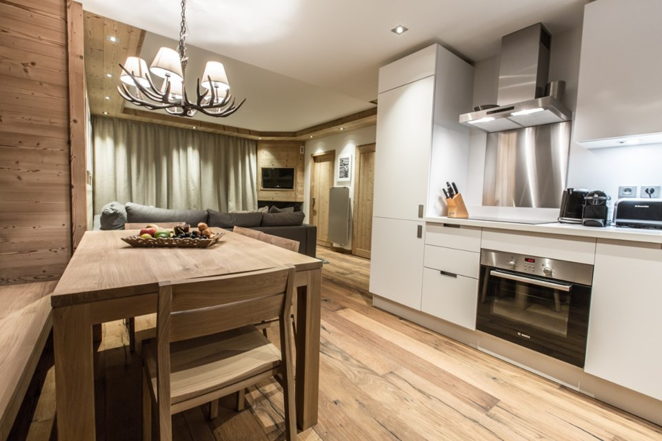 Whistler Lodge, Courchevel Moriond (self catered apartments) - 2 bed alc superior 6