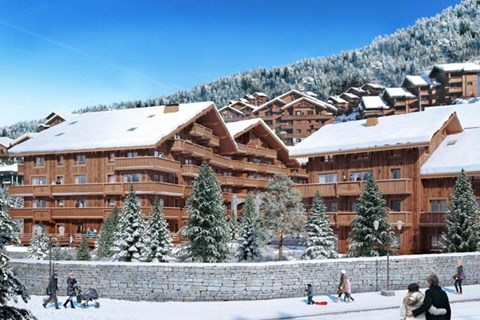 l'Hevana self-catered apartments Meribel