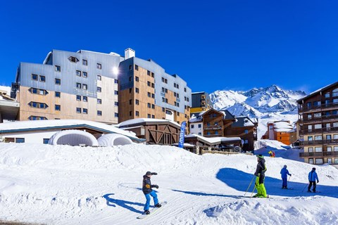 Hotel Les Arolles in Val Thorens