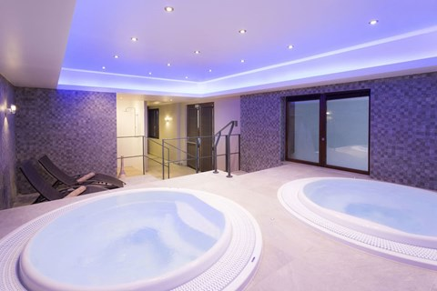 Hotel les Arolles Val Thorens wellness area