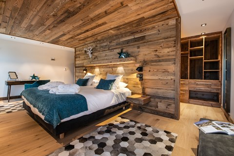 Canyon Lodge bedroom Courchevel