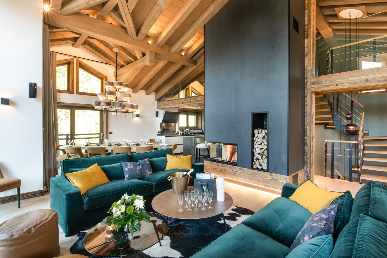 Canyon Lodge premium luxury chalet in Courchevel 3 Valleys