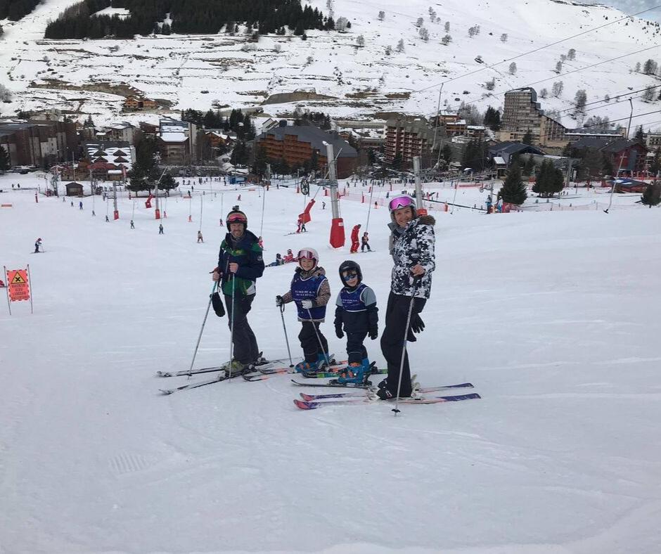 Ski en famille aux 2 Alpes