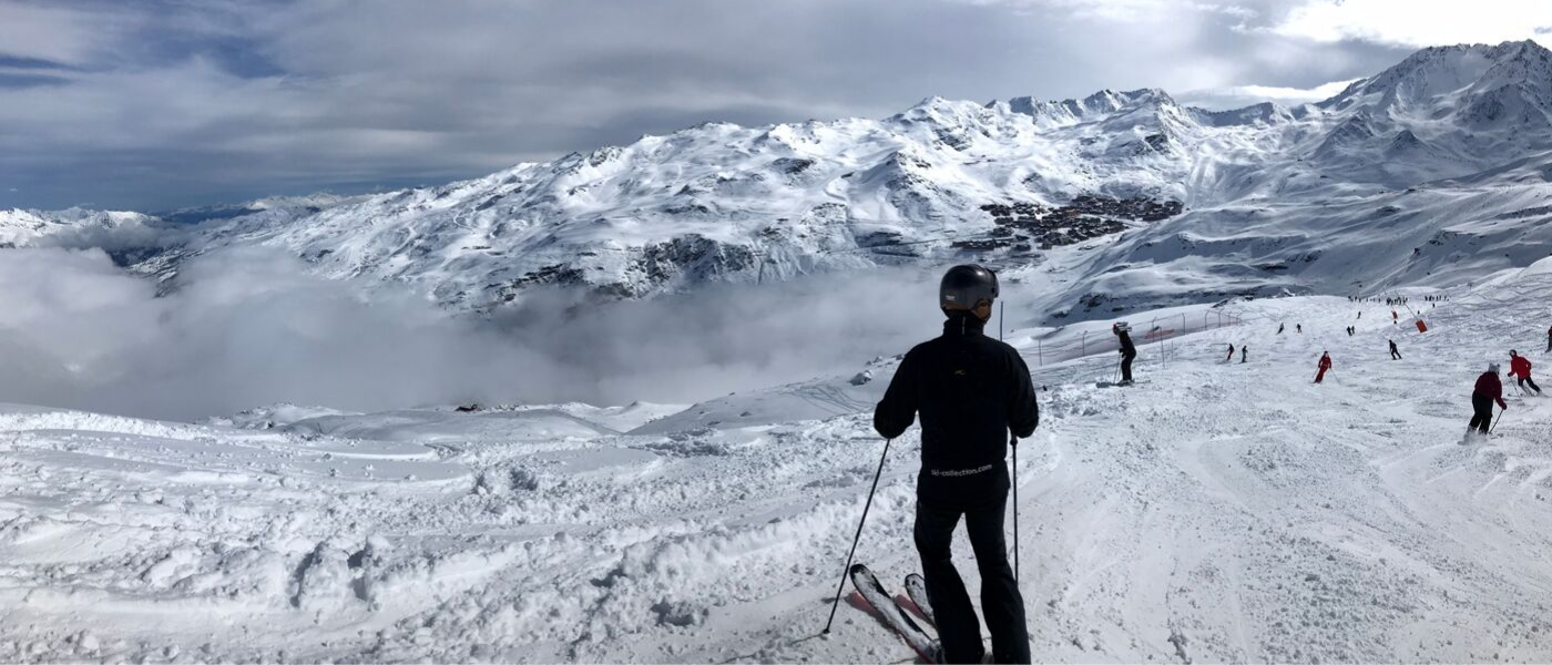 overlooking Val Thorens