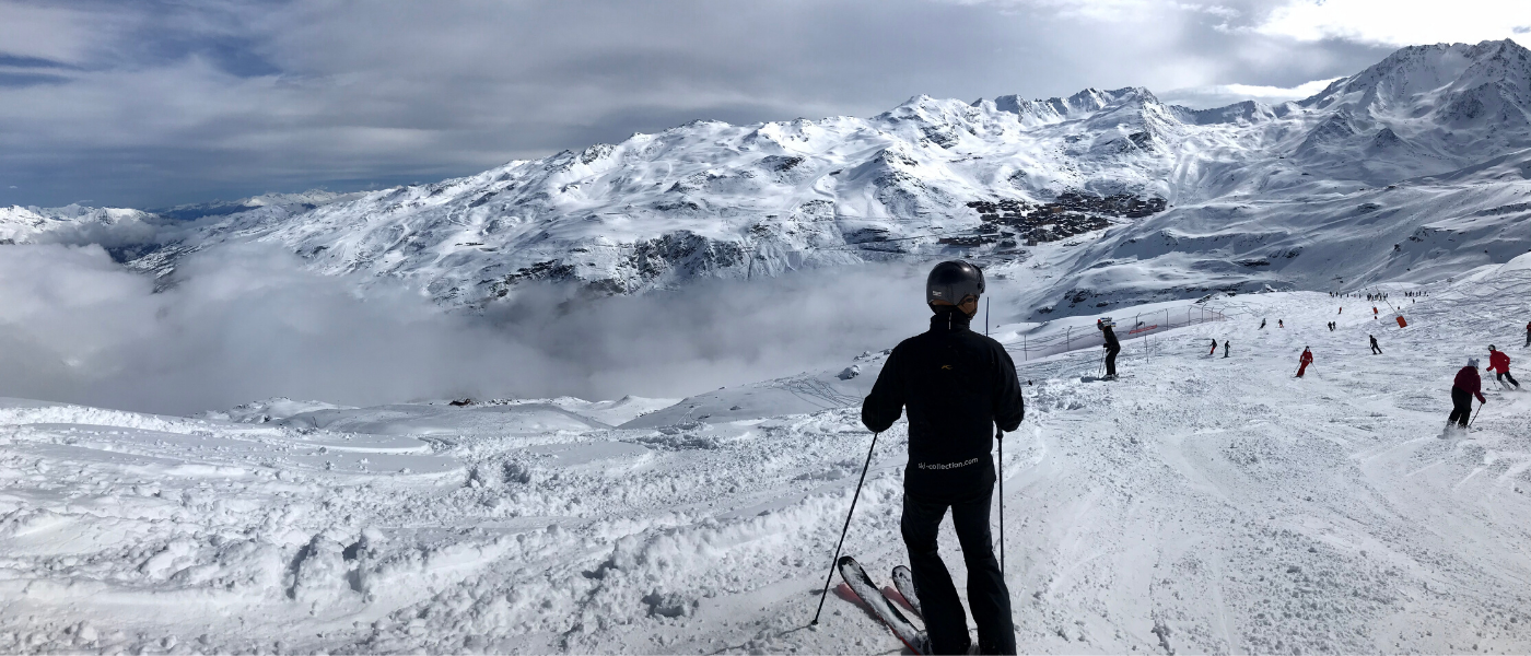 Val Thorens skiing 3 Vallees