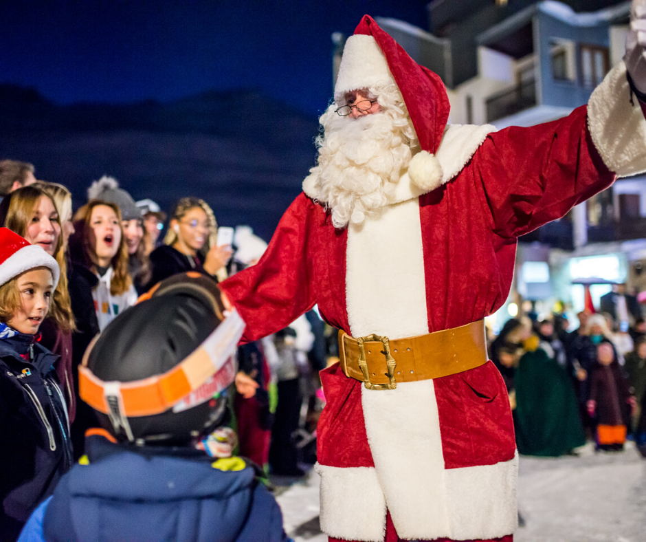 Tignes Christmas celebrations